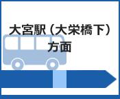大宮駅(大栄橋下)方面