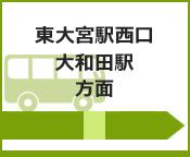 東大宮駅西口・大和田駅方面